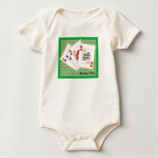 Diapers Wild Poker Baby Bodysuit