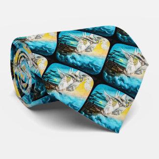 Diapositiva de linterna mágica de cristal del corbata