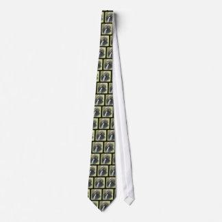 Diapositiva de linterna mágica del vintage de corbata