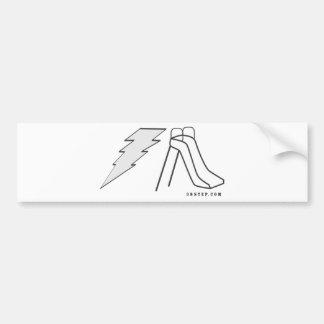 Diapositiva eléctrica etiqueta de parachoque