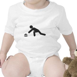 Diapositiva que se encrespa trajes de bebé