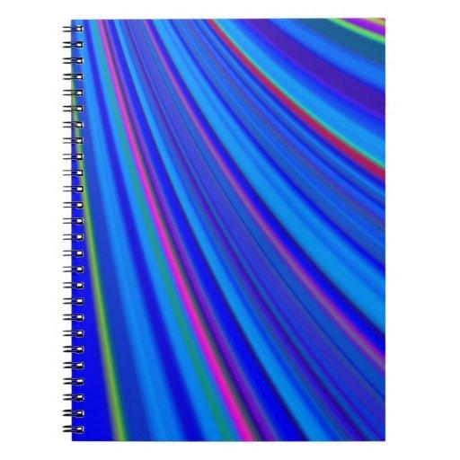 Diapositiva reconstruida libros de apuntes con espiral