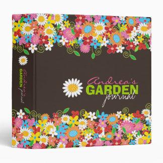 """Diario 1,5"""" del jardín de flores de la primavera c"""