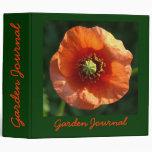 Diario anaranjado del jardín de la amapola - Avery