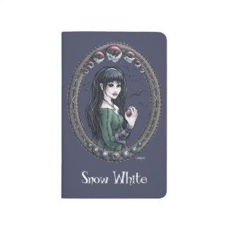 """Diario """"blanco como la nieve"""" de hadas del bolsill cuadernos"""