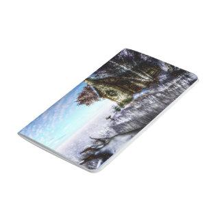 Diario casero del invierno cuaderno