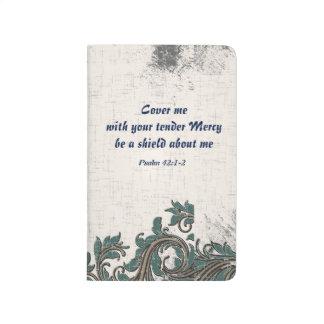 Diario compacto del rezo (cúbrame) cuadernos grapados