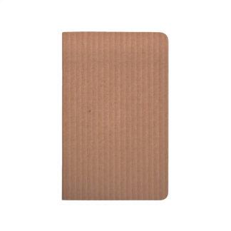 Diario con el diseño de Brown Cuadernos Grapados