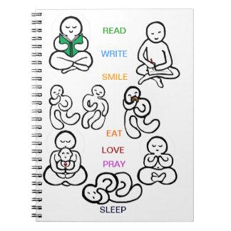 diario creativo libro de apuntes con espiral