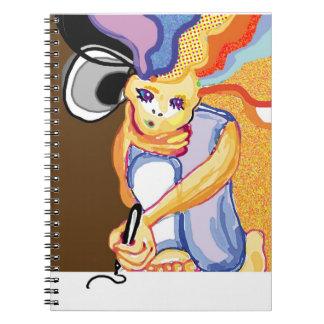diario creativo libros de apuntes