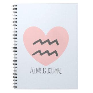 Diario/cuaderno del acuario