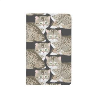 Diario de Catception Cutie del gato Cuadernos Grapados