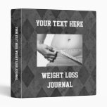 Diario de encargo de la pérdida de peso, libro del