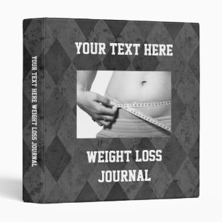 """Diario de encargo de la pérdida de peso, libro del carpeta 1"""""""