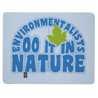 Diario de encargo del bolsillo de los ecologistas cuadernos