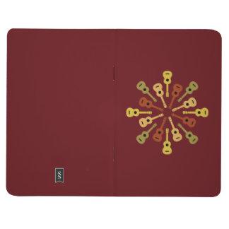 Diario de encargo del bolsillo del Ukulele Cuadernos Grapados