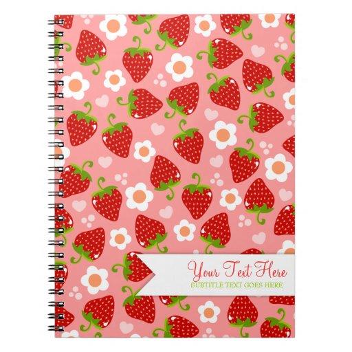Diario de encargo del cuaderno de las fresas