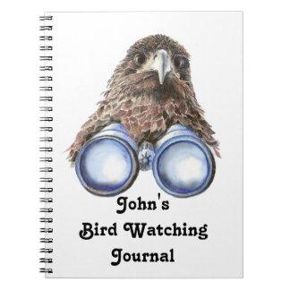 Diario de encargo divertido de la observación de p libros de apuntes con espiral