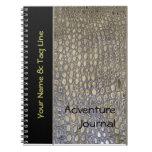 Diario de la aventura del safari libreta espiral