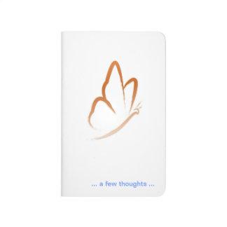 Diario de la idea de la mariposa cuadernos