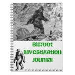 Diario de la investigación de Bigfoot Spiral Notebook