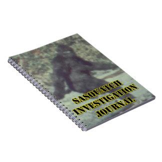 Diario de la investigación de Sasquatch - cuaderno