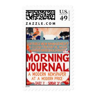 Diario de la mañana - Louis Rhead Sello