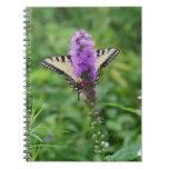 Diario de la mariposa spiral notebook