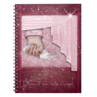 Diario de la niña libros de apuntes