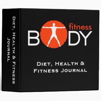 """Diario de la salud y de la aptitud de la dieta carpeta 2"""""""