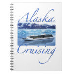Diario de la travesía de Alaska Libros De Apuntes Con Espiral