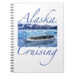Diario de la travesía de Alaska Spiral Notebook