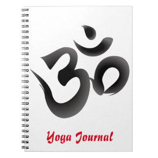 Diario de la yoga notebook