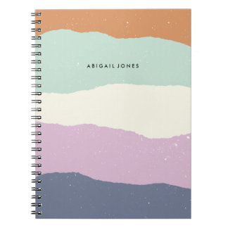Diario de las capas - lavanda cuaderno