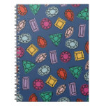 Diario de las gemas - zafiro libro de apuntes con espiral
