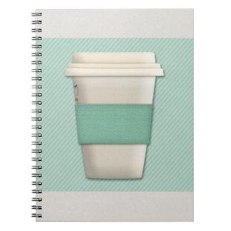 Diario de los amantes del café cuaderno