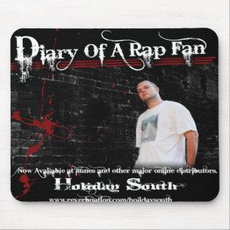 Diario de una fan Mousepad del rap