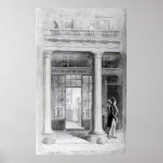 Diario de Westminster, el cuadrante, calle regente Póster
