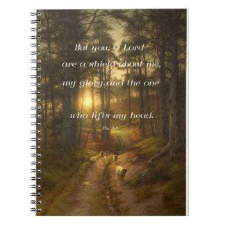 Diario del 3:3 del salmo libreta