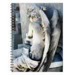 Diario del ángel del niño libro de apuntes con espiral