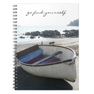 Diario del barco de fila note book
