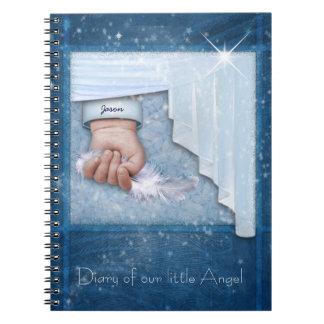 Diario del bebé libro de apuntes