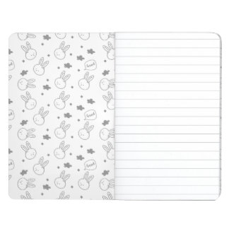Diario del bolsillo - conejito de Kawaii Cuaderno