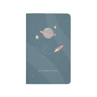 Diario del bolsillo de la exploración espacial cuadernos