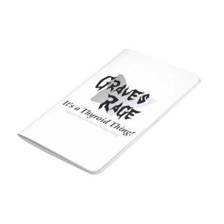 Diario del bolsillo de la rabia de los sepulcros cuaderno grapado