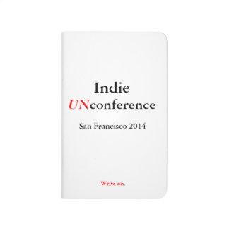 Diario del bolsillo de UnConference del indie - es Cuadernos