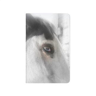 Diario del bolsillo del amante del caballo cuaderno