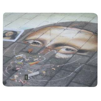 Diario del bolsillo del arte de la calle de Mona L Cuaderno