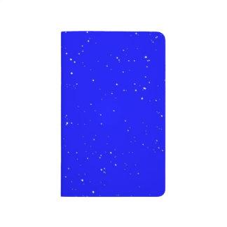 Diario del bolsillo del campo de estrella cuadernos grapados