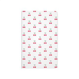 Diario del bolsillo del modelo de la cereza dulce cuaderno